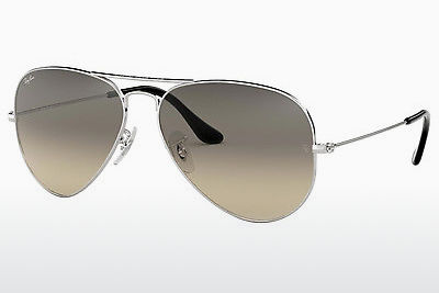 太阳镜 Ray-Ban AVIATOR LARGE METAL (RB3025 003/32) - 银色