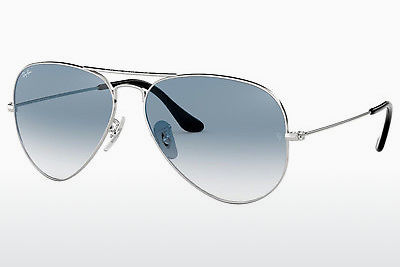 太阳镜 Ray-Ban AVIATOR LARGE METAL (RB3025 003/3F) - 银色