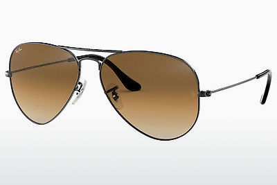 太阳镜 Ray-Ban AVIATOR LARGE METAL (RB3025 004/51) - 灰色, 紫铜色