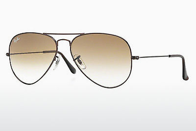 太阳镜 Ray-Ban AVIATOR LARGE METAL (RB3025 014/51) - 棕色