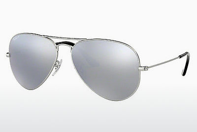 太阳镜 Ray-Ban AVIATOR LARGE METAL (RB3025 019/W3) - 银色