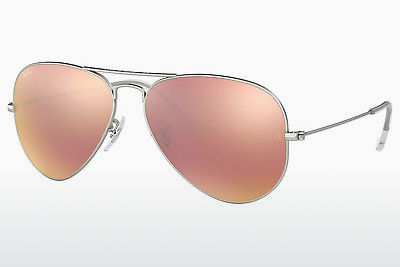 太阳镜 Ray-Ban AVIATOR LARGE METAL (RB3025 019/Z2) - 银色