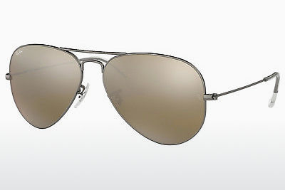 太阳镜 Ray-Ban AVIATOR LARGE METAL (RB3025 029/30) - 灰色, 紫铜色