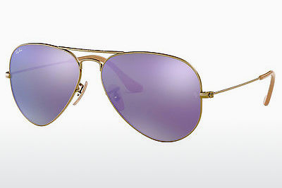 太阳镜 Ray-Ban AVIATOR LARGE METAL (RB3025 167/1M) - 棕色