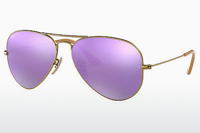 太阳镜 Ray-Ban AVIATOR LARGE METAL (RB3025 167/1R) - 棕色
