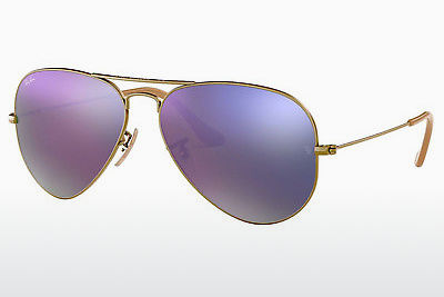 太阳镜 Ray-Ban AVIATOR LARGE METAL (RB3025 167/4K) - 棕色