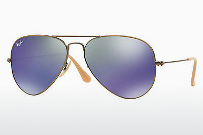 太阳镜 Ray-Ban AVIATOR LARGE METAL (RB3025 167/68) - 棕色, 铜色