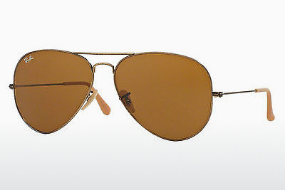 太阳镜 Ray-Ban AVIATOR LARGE METAL (RB3025 177/33) - 金色