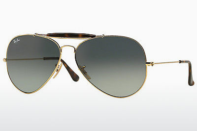 太阳镜 Ray-Ban OUTDOORSMAN II (RB3029 181/71) - 金色