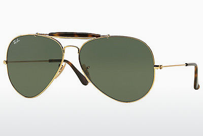 太阳镜 Ray-Ban OUTDOORSMAN II (RB3029 181) - 金色