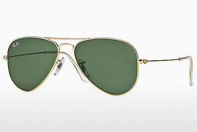 太阳镜 Ray-Ban AVIATOR SMALL METAL (RB3044 L0207) - 金色