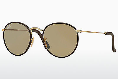 太阳镜 Ray-Ban ROUND CRAFT (RB3475Q 112/53) - 金色, 棕色