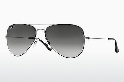 太阳镜 Ray-Ban AVIATOR FLAT METAL (RB3513 154/8G) - 银色