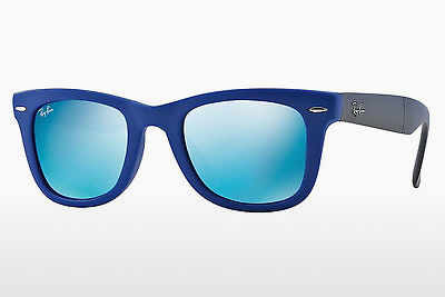 太阳镜 Ray-Ban FOLDING WAYFARER (RB4105 602017) - 蓝色