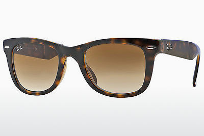 太阳镜 Ray-Ban FOLDING WAYFARER (RB4105 710/51) - 棕色, 哈瓦那