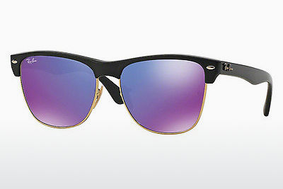 太阳镜 Ray-Ban CLUBMASTER OVERSIZED (RB4175 877/1M) - 黑色