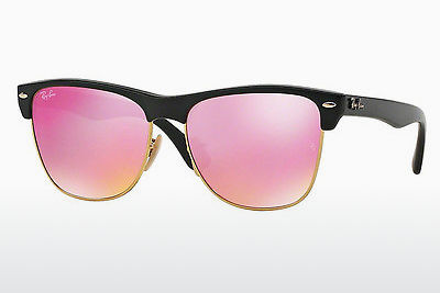 太阳镜 Ray-Ban CLUBMASTER OVERSIZED (RB4175 877/4T) - 黑色