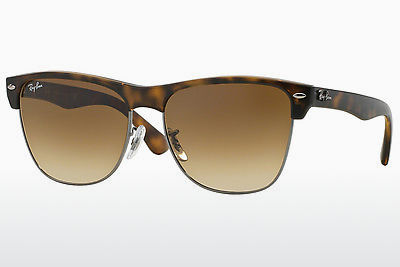 太阳镜 Ray-Ban CLUBMASTER OVERSIZED (RB4175 878/51) - 棕色, 哈瓦那, 灰色