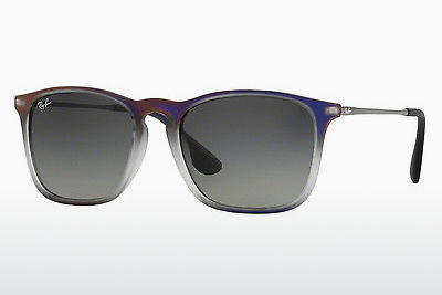 太阳镜 Ray-Ban CHRIS (RB4187 622311) - 紫色, 黑色