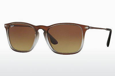 太阳镜 Ray-Ban CHRIS (RB4187 622413) - 棕色