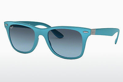 太阳镜 Ray-Ban WAYFARER LITEFORCE (RB4195 60848F) - 灰色, 蓝色