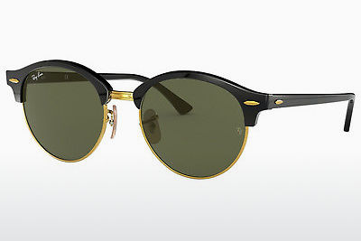 太阳镜 Ray-Ban Clubround (RB4246 901) - 黑色