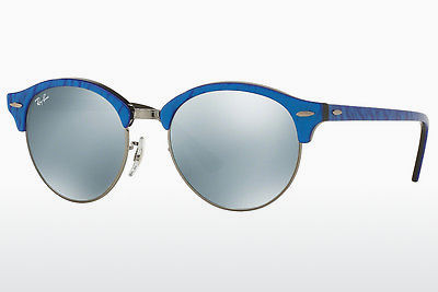 太阳镜 Ray-Ban Clubround (RB4246 984/30) - 蓝色