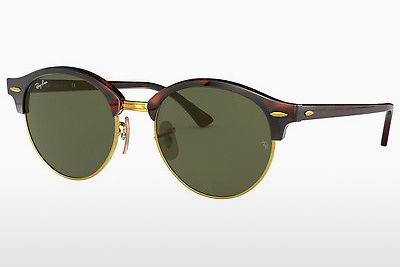 太阳镜 Ray-Ban Clubround (RB4246 990) - 棕色, 哈瓦那
