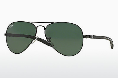 太阳镜 Ray-Ban AVIATOR TM CARBON FIBRE (RB8307 002/N5) - 黑色