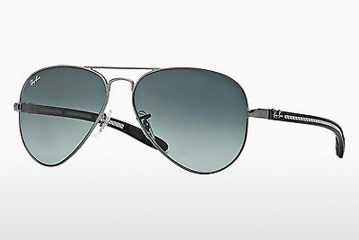 太阳镜 Ray-Ban AVIATOR TM CARBON FIBRE (RB8307 029/71) - 灰色, 紫铜色