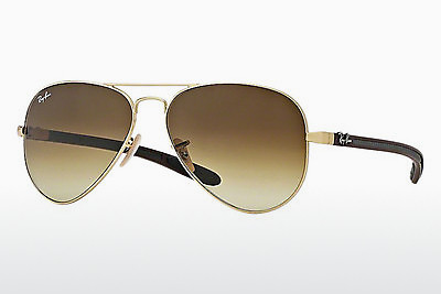 太阳镜 Ray-Ban AVIATOR TM CARBON FIBRE (RB8307 112/85) - 金色