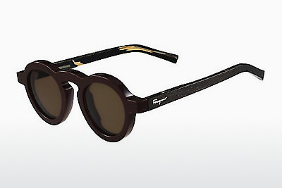 太阳镜 Salvatore Ferragamo SF812S 604 - 酒红色
