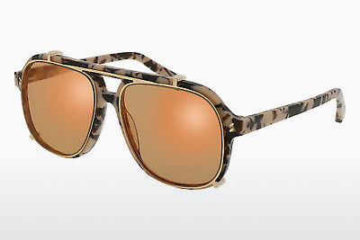 太阳镜 Stella McCartney SC0076S 001 - 棕色, 哈瓦那