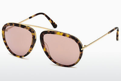 太阳镜 Tom Ford Stacy (FT0452 53Z) - 哈瓦那, Yellow, Blond, Brown