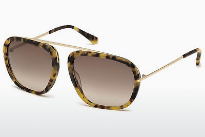 太阳镜 Tom Ford Johnson (FT0453 53F) - 哈瓦那, Yellow, Blond, Brown