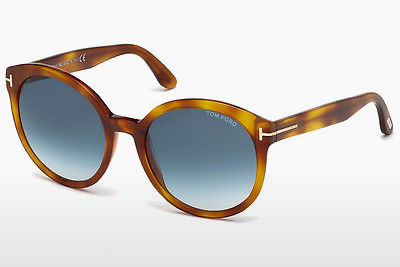太阳镜 Tom Ford Philippa (FT0503 53W) - 哈瓦那, Yellow, Blond, Brown