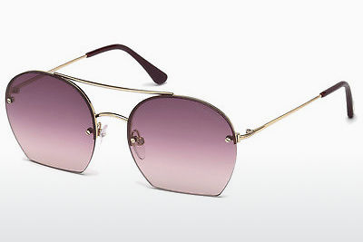 太阳镜 Tom Ford Antonia (FT0506 28Z) - 金色