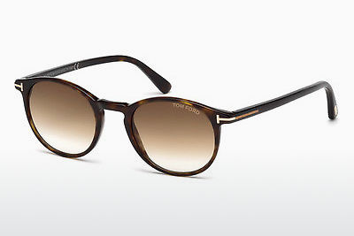 太阳镜 Tom Ford Andrea (FT0539 52F) - 棕色, Dark, Havana