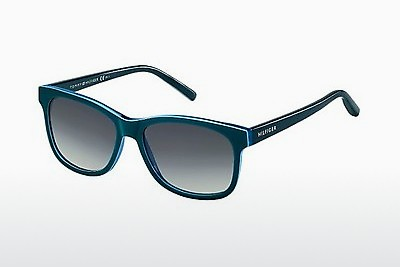 太阳镜 Tommy Hilfiger TH 1985 UCT/HD - 绿色, Teal