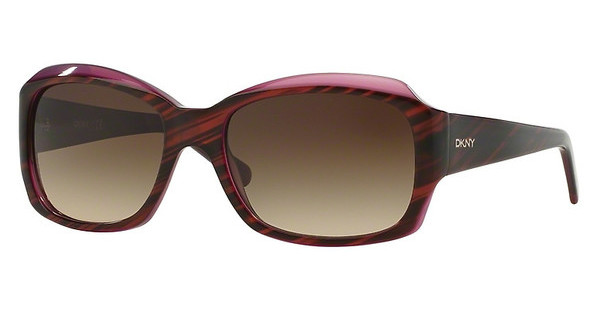 DKNY DY4048 342413 BROWN GRADIENTSTRIPED BROWN/VIOLET