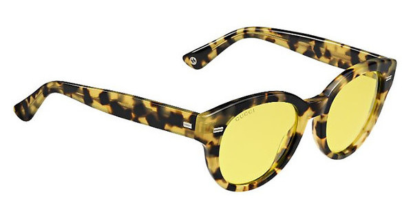 Gucci GG 3745/S 00F/HO YELLOWSPOTTEDHV (YELLOW)