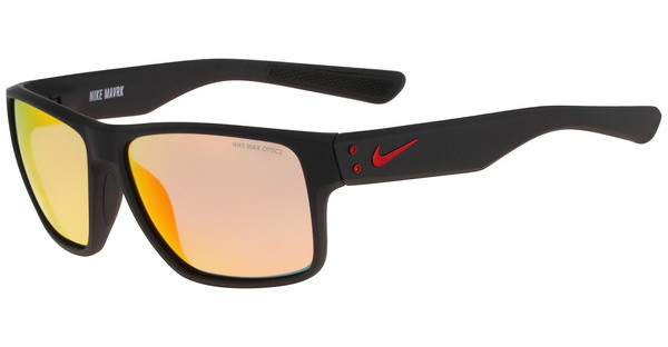 Nike NIKE MAVRK R EV0773 006 MATTE BLACK/GYM RED WITH GREY W/ML RED FLASH LENS
