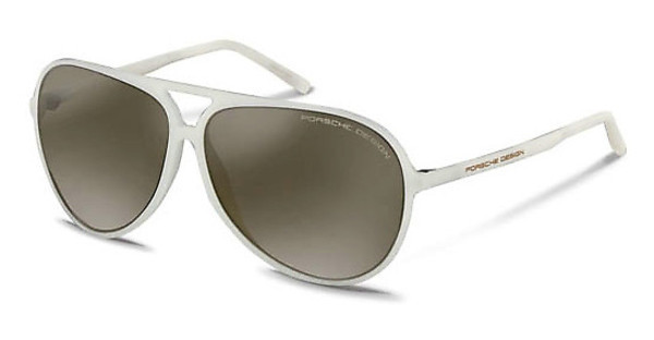 Porsche Design P8595 B brown gradient, silver mirroredwhite