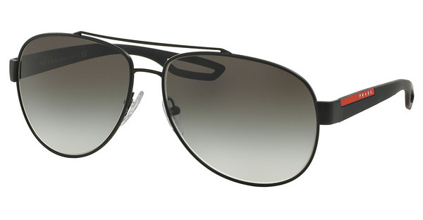 Prada Sport PS 55QS DG00A7 GREY GRADIENTBLACK RUBBER