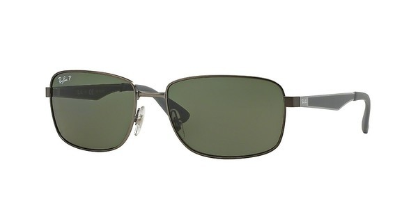 Ray-Ban RB3529 029/9A DARK GREEN POLARMATTE GUNMETAL