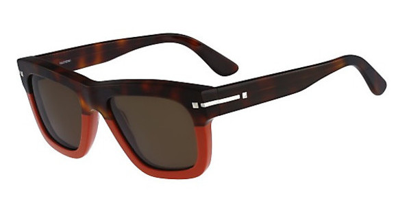 Valentino V702S 246 HAVANA/ENGLISH RED