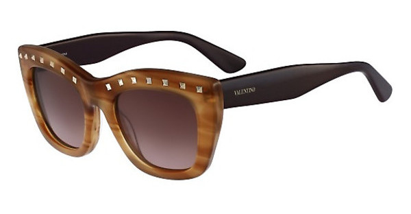 Valentino V716S 772 STRIPED HONEY