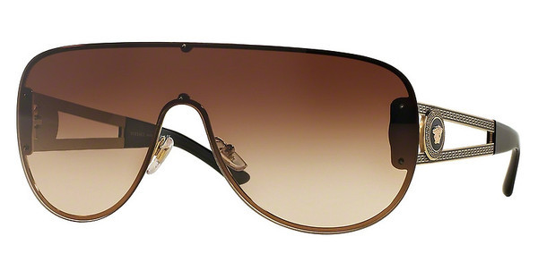 Versace VE2166 125213 BROWN GRADIENTPALE GOLD