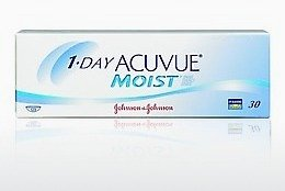 隐形眼镜 Johnson & Johnson 1 DAY ACUVUE MOIST 1DM-90P-REV
