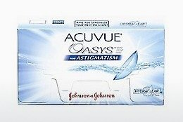 隐形眼镜 Johnson & Johnson ACUVUE ADVANCE for ASTIGMATISM AGT-6P-REV